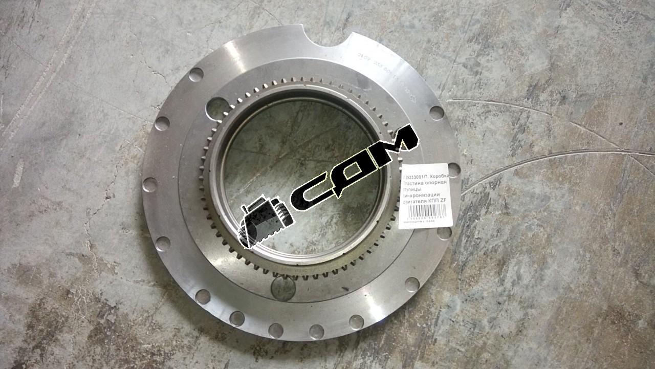 Пластина опорная ступицы синхронизации двигателя КПП ZF H  2159233001